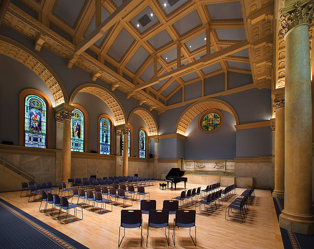 Judson memorial church g3 architecture for Interior news